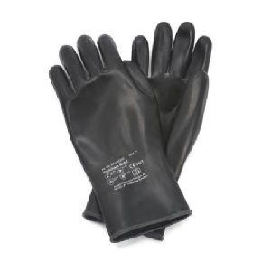 Butyl Chemical Resistant Rubber Glove